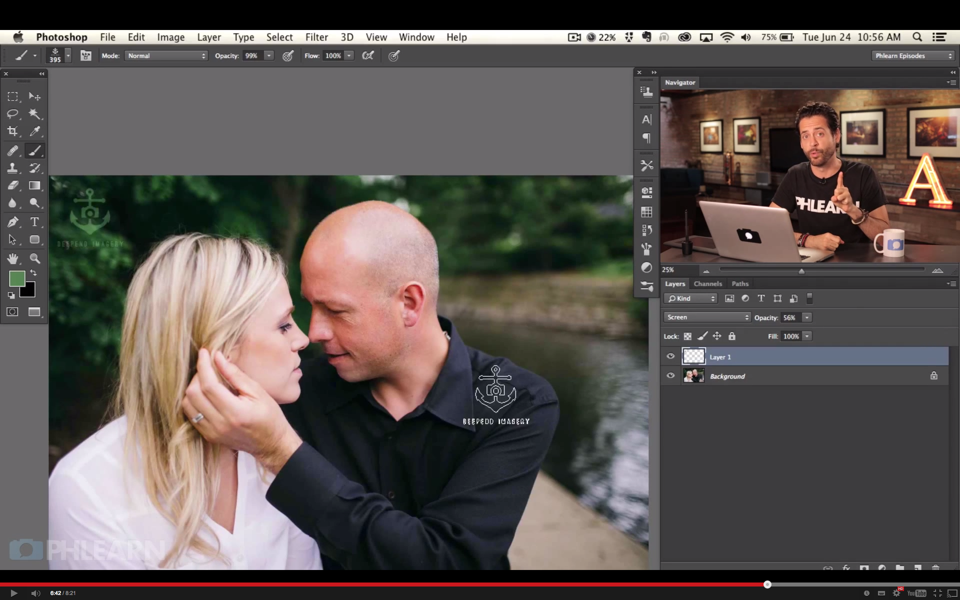 Effectively and subtly add watermarks in Photoshop