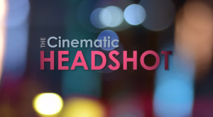 Fstoppers Cinematic Headshot intro screen