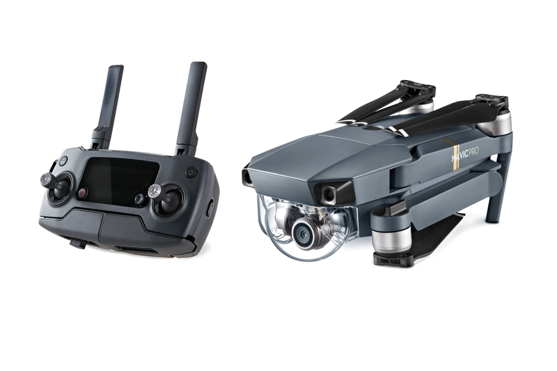 DJI Mavic drone and controller