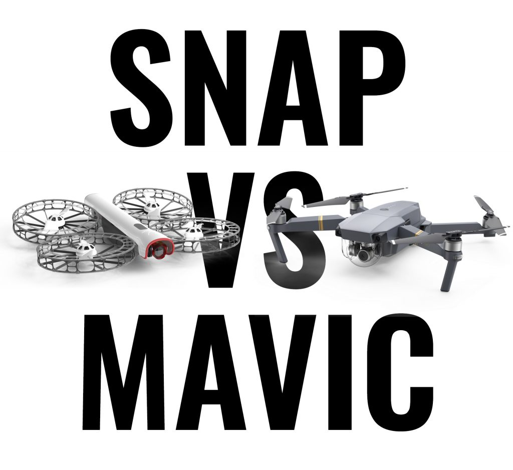 Snap vs Mavic comparison