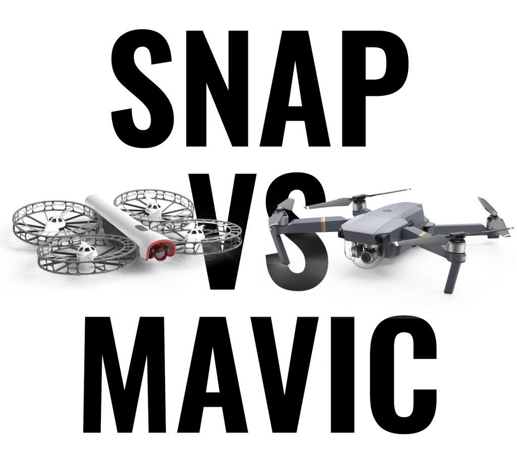 Snap vs Mavic comparison