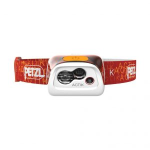 Petzl Actik Core headlamp.