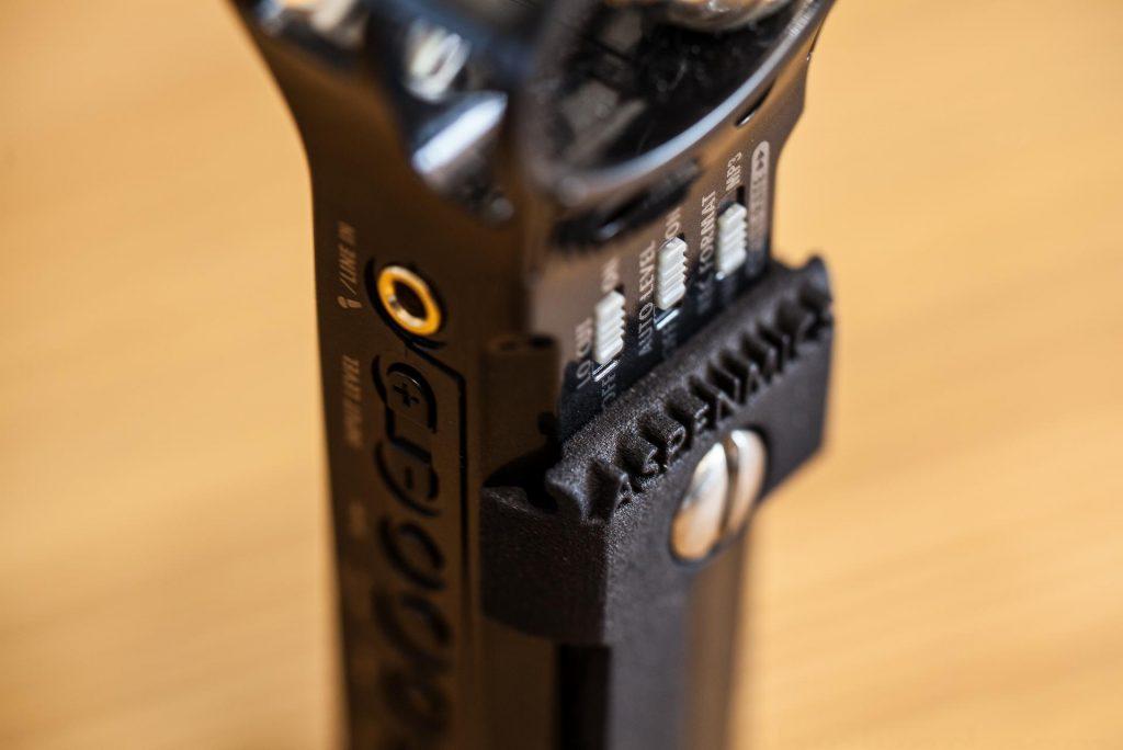 Belt Clipping The Zoom H1 Audio Recorder Mediarena